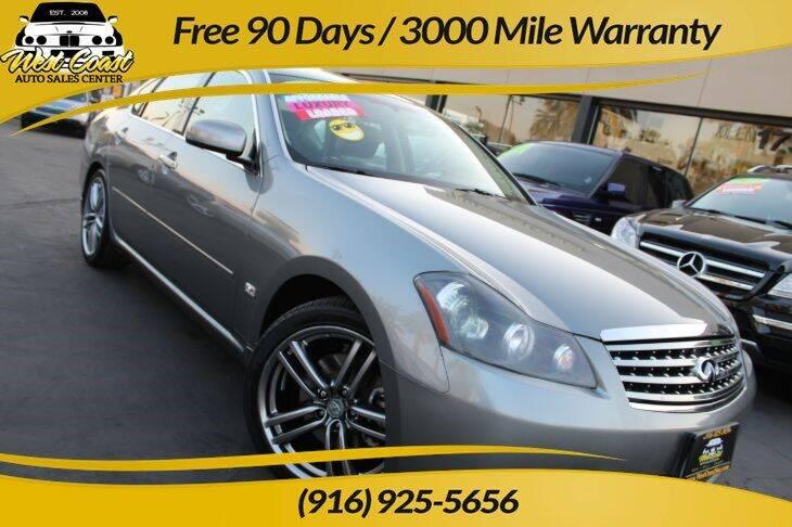 2007 Infiniti M35 for sale at West Coast Auto Sales Center in Sacramento CA