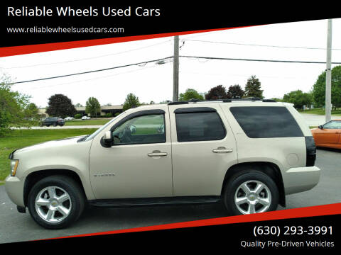2007 Chevrolet Tahoe for sale at Reliable Wheels Used Cars in West Chicago IL