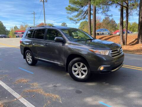 2013 Toyota Highlander for sale at THE AUTO FINDERS in Durham NC