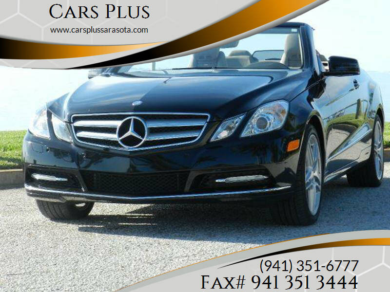 2012 Mercedes-Benz E-Class for sale at Cars Plus in Sarasota FL