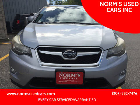2013 Subaru XV Crosstrek for sale at NORM'S USED CARS INC in Wiscasset ME