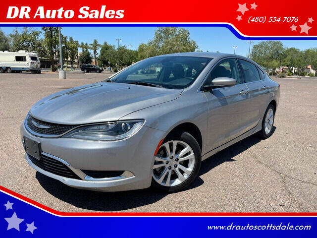 2016 Chrysler 200 for sale at DR Auto Sales in Scottsdale AZ
