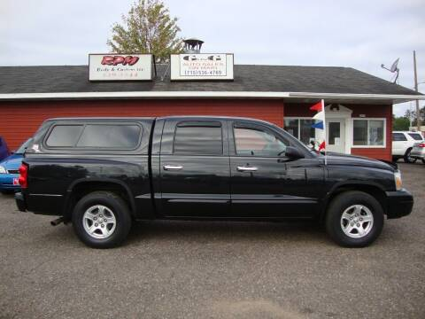 2007 Dodge Dakota for sale at G and G AUTO SALES in Merrill WI