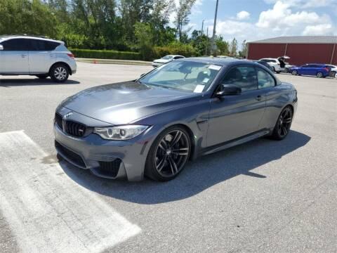 2017 BMW M4 for sale at Florida Fine Cars - West Palm Beach in West Palm Beach FL