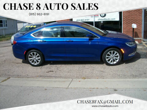 2015 Chrysler 200 for sale at Chase 8 Auto Sales in Loves Park IL