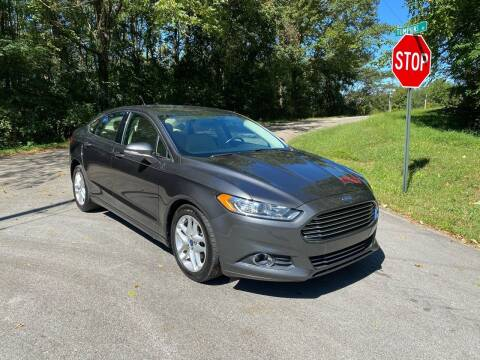 2016 Ford Fusion for sale at Tennessee Valley Wholesale Autos LLC in Huntsville AL