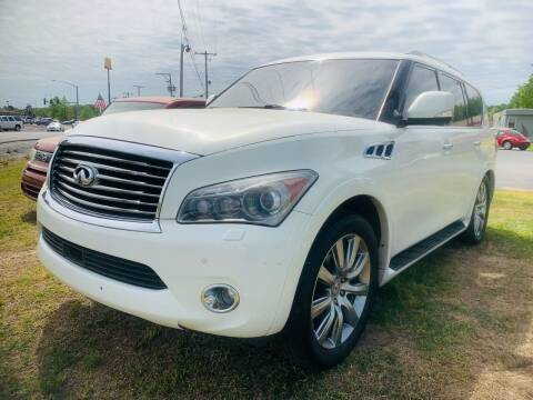 2012 Infiniti QX56 for sale at BRYANT AUTO SALES in Bryant AR