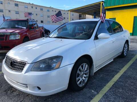 2006 Nissan Altima for sale at Trans Copacabana Auto Sales in Hollywood FL