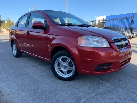 2007 Chevrolet Aveo for sale at Boktor Motors in Las Vegas NV