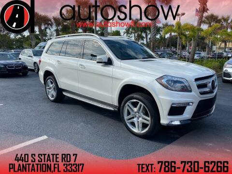 2014 Mercedes-Benz GL-Class for sale at AUTOSHOW SALES & SERVICE in Plantation FL