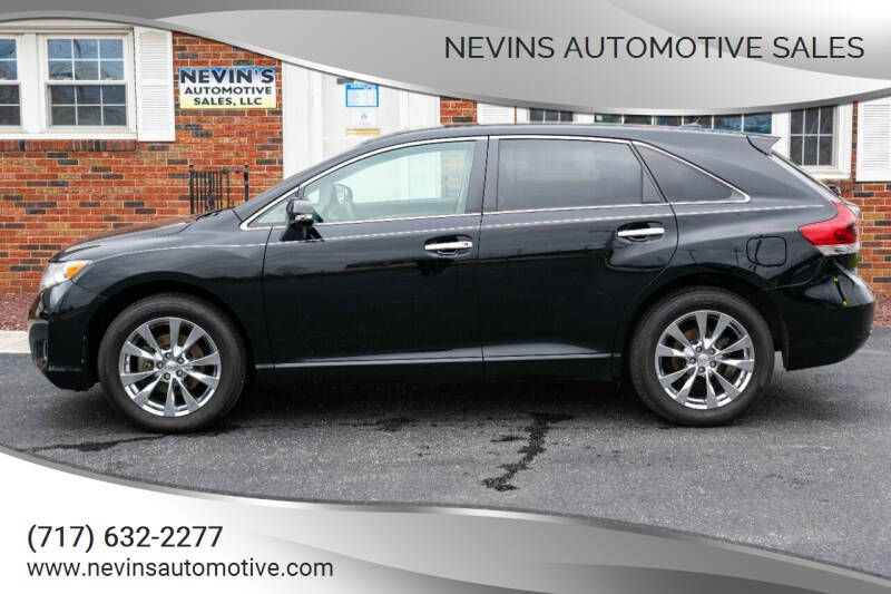 2013 Toyota Venza for sale at Nevins Automotive Sales in Hanover PA