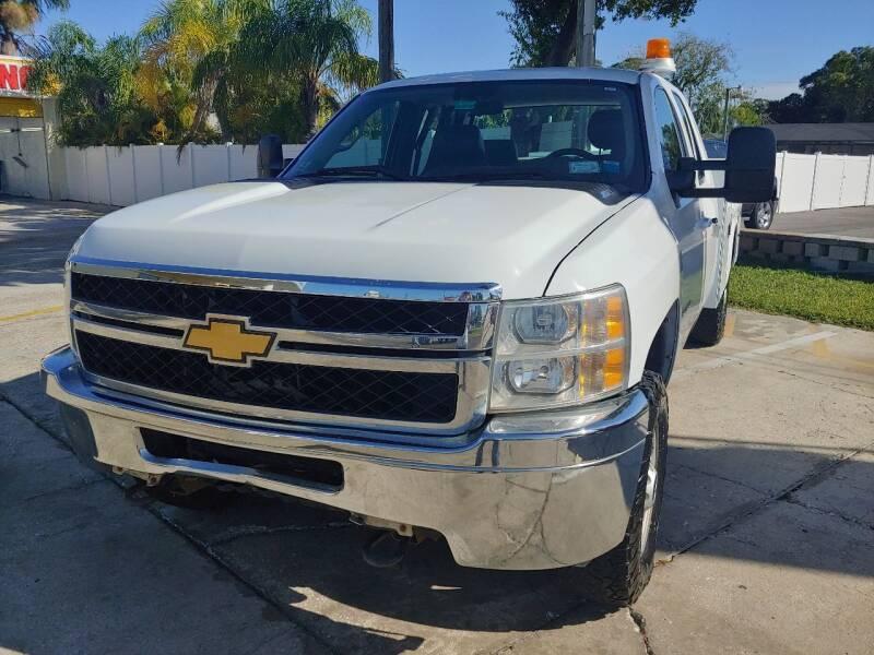 2012 Chevrolet Silverado 2500HD 4x2 Work Truck 4dr Extended Cab LB - Largo FL
