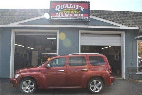 2008 Chevrolet HHR for sale at Quality Pre-Owned Automotive in Cuba MO