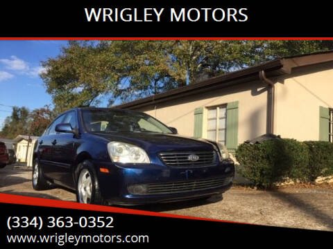 2008 Kia Optima for sale at WRIGLEY MOTORS in Opelika AL