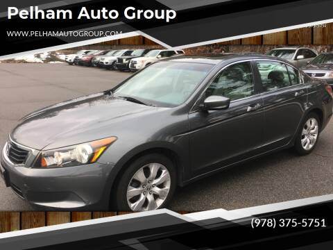 2008 Honda Accord for sale at Pelham Auto Group in Pelham NH