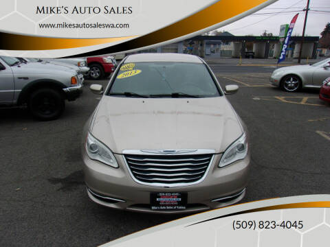 2013 Chrysler 200 for sale at Mike's Auto Sales in Yakima WA