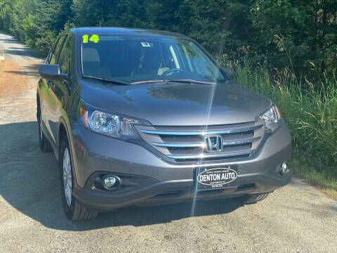 2014 Honda CR-V for sale at Denton Auto Inc in Craftsbury VT