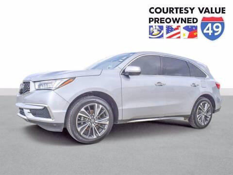 2020 Acura MDX for sale at Courtesy Value Pre-Owned I-49 in Lafayette LA