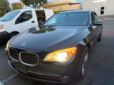 2011 BMW 7 Series for sale at Cars4U in Escondido CA