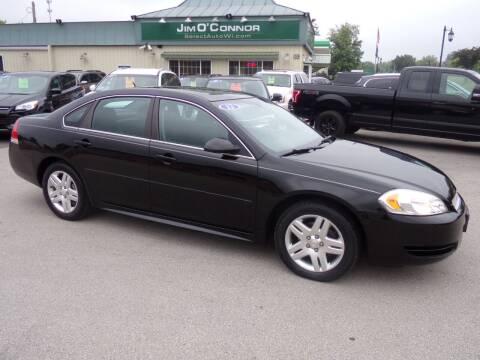 2012 Chevrolet Impala for sale at Jim O'Connor Select Auto in Oconomowoc WI