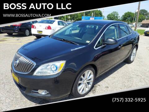 2013 Buick Verano for sale at BOSS AUTO LLC in Norfolk VA