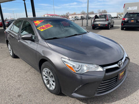 2017 Toyota Camry for sale at Top Line Auto Sales in Idaho Falls ID