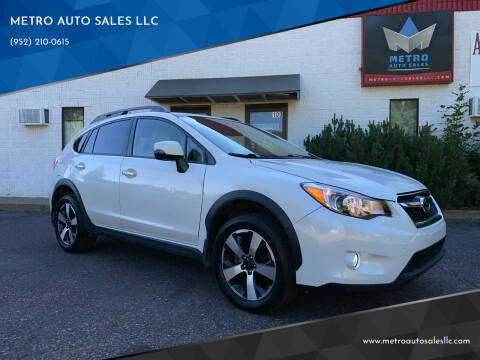 2014 Subaru XV Crosstrek for sale at METRO AUTO SALES LLC in Blaine MN