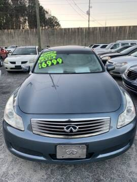 2008 Infiniti G35 for sale at J D USED AUTO SALES INC in Doraville GA
