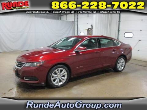 2017 Chevrolet Impala for sale at Runde Chevrolet in East Dubuque IL