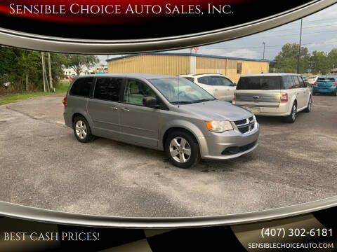 2013 Dodge Grand Caravan for sale at Sensible Choice Auto Sales, Inc. in Longwood FL