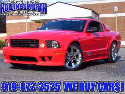 2005 Ford Mustang for sale at Hollingsworth Auto Sales in Raleigh NC