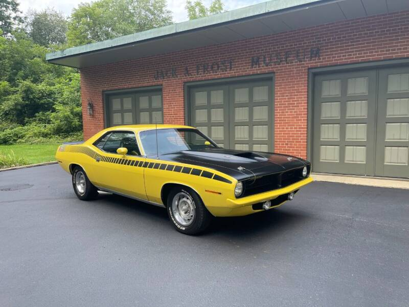1970 Plymouth Barracuda for sale at Jack Frost Auto Museum in Washington MI