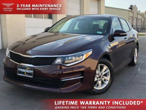 2018 Kia Optima for sale at European Motors Inc in Plano TX