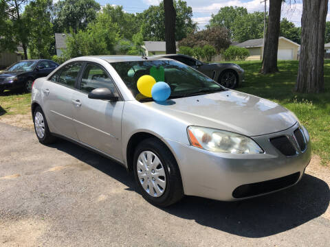 2008 Pontiac G6 for sale at Antique Motors in Plymouth IN