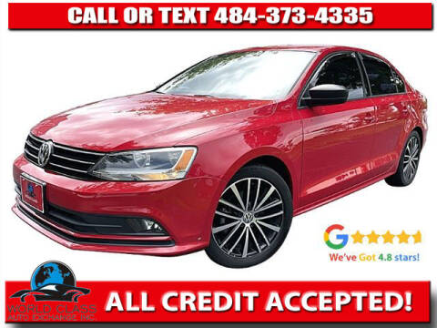 2016 Volkswagen Jetta for sale at World Class Auto Exchange in Lansdowne PA