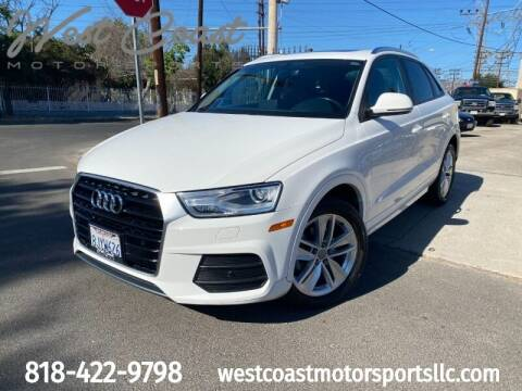 2017 Audi Q3 for sale at West Coast Motor Sports in North Hollywood CA