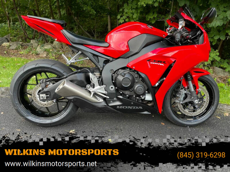 2015 Honda CBR 1000RR for sale at WILKINS MOTORSPORTS in Brewster NY