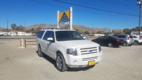 2010 Ford Expedition EL for sale at Auto Depot in Carson City NV