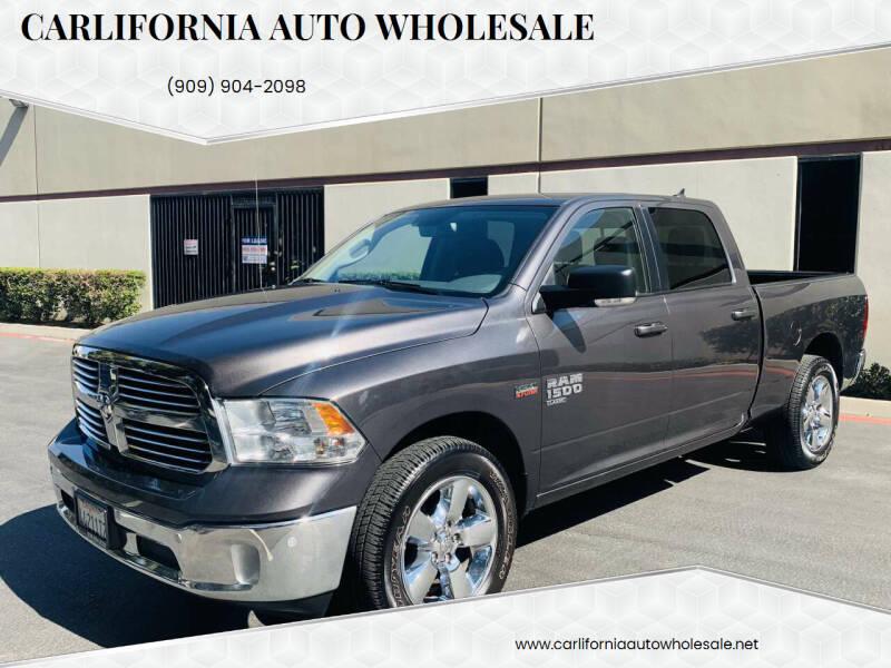 2019 RAM Ram Pickup 1500 Classic for sale at CARLIFORNIA AUTO WHOLESALE in San Bernardino CA