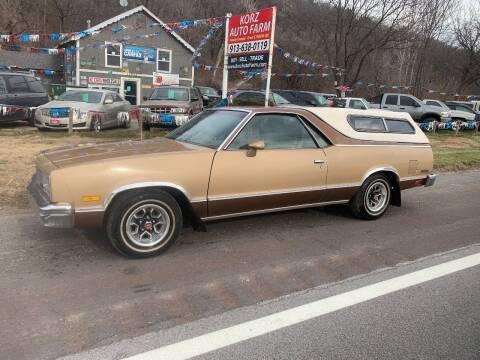 1985 Chevrolet El Camino for sale at Korz Auto Farm in Kansas City KS