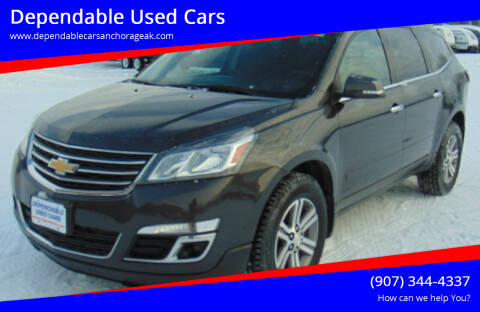2017 Chevrolet Traverse for sale at Dependable Used Cars in Anchorage AK
