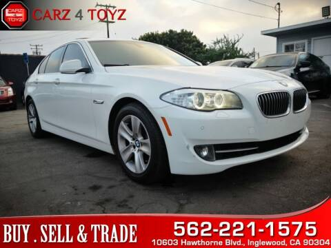 2013 BMW 5 Series for sale at Carz 4 Toyz in Inglewood CA