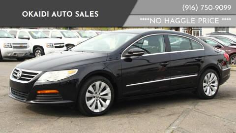 2011 Volkswagen CC for sale at Okaidi Auto Sales in Sacramento CA