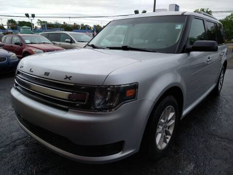 2014 Ford Flex for sale at P J McCafferty Inc in Langhorne PA