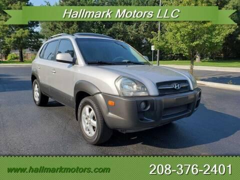 2005 Hyundai Tucson for sale at HALLMARK MOTORS LLC in Boise ID