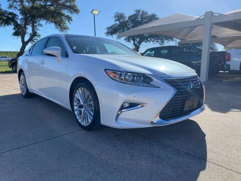 2016 Lexus ES 350 for sale at Thornhill Motor Company in Hudson Oaks, TX