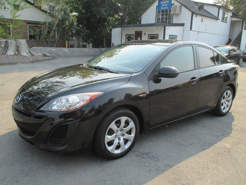2011 Mazda MAZDA3 for sale at Summit Auto Sales in Reno NV