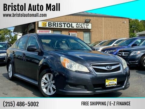 2012 Subaru Legacy for sale at Bristol Auto Mall in Levittown PA