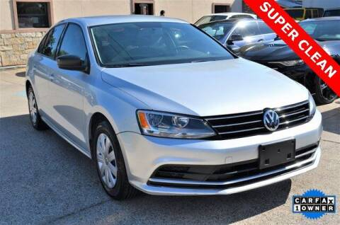 2016 Volkswagen Jetta for sale at LAKESIDE MOTORS, INC. in Sachse TX