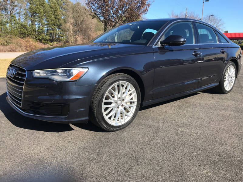 2016 Audi A6 for sale at European Performance in Raleigh NC